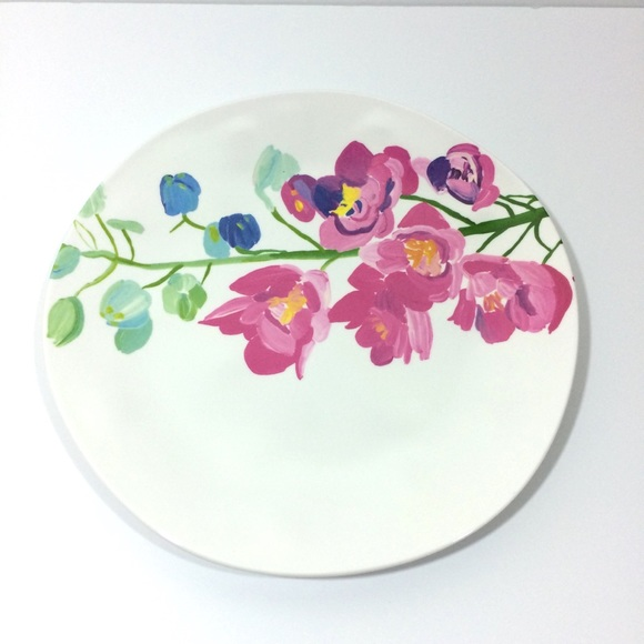 Anthropologie Other - Anthropologie Paint + Petals Plate Set Set of 2
